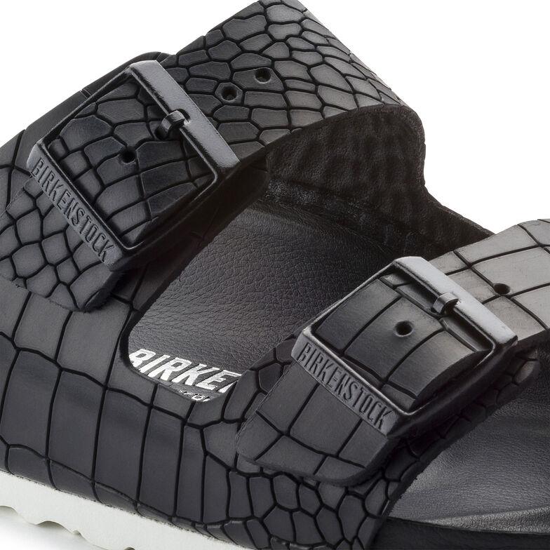 Arizona Natural Leather Kroko Black