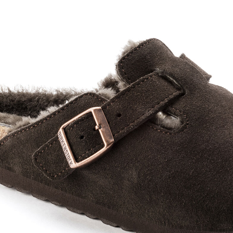 Boston Suede Leather Mocha