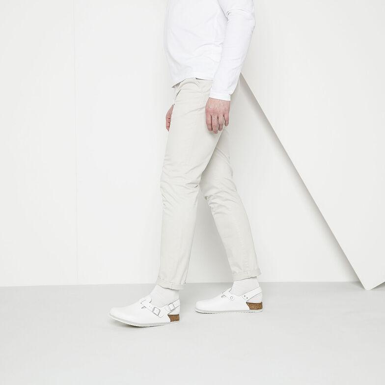Tokio Natural Leather White