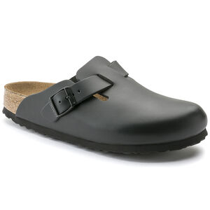 Boston Natural Leather Soft Footbed