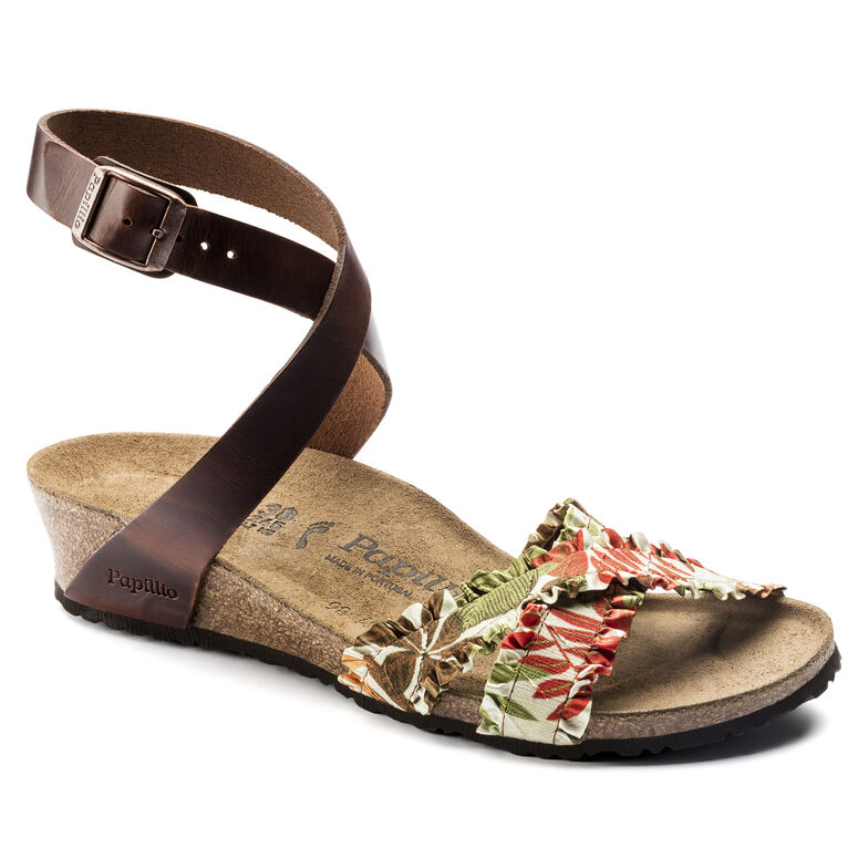 Lola Birko-Flor Flower Frill Brown