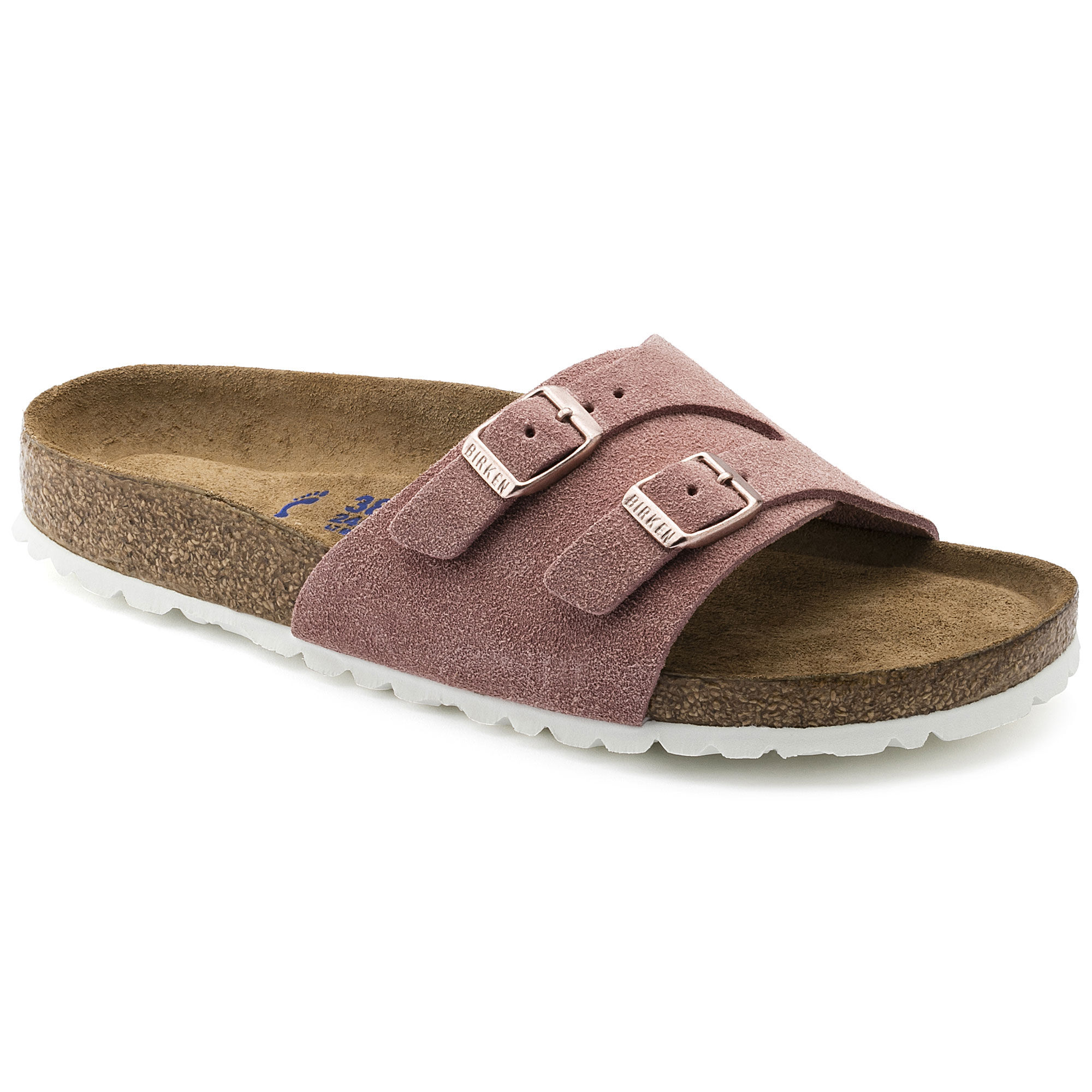 Vaduz Suede Leather Soft footbed Rose