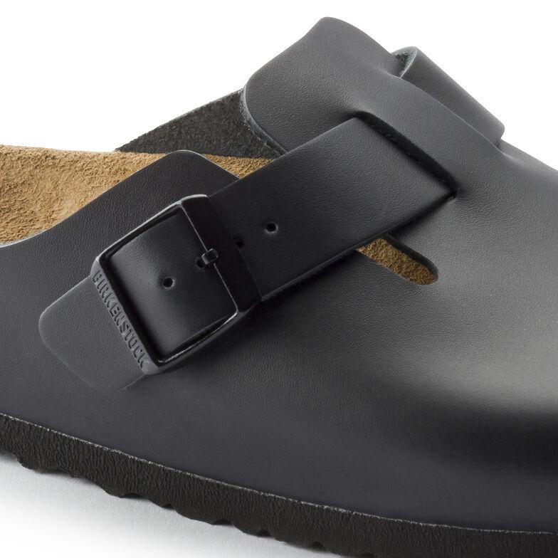 Boston Natural Leather Black