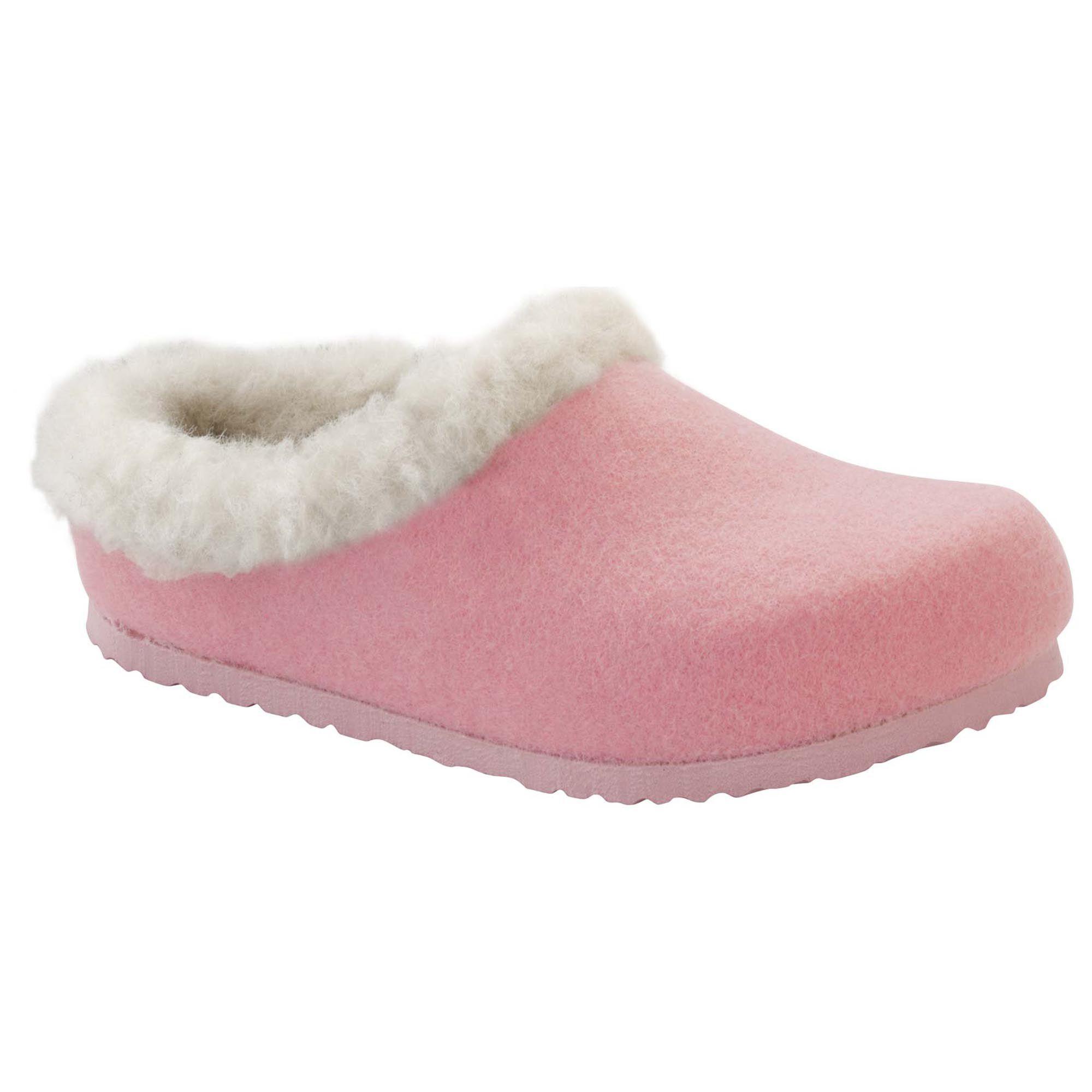 BIRKENSTOCK Kaprun Wool Felt Rose Happy Lamb Beige