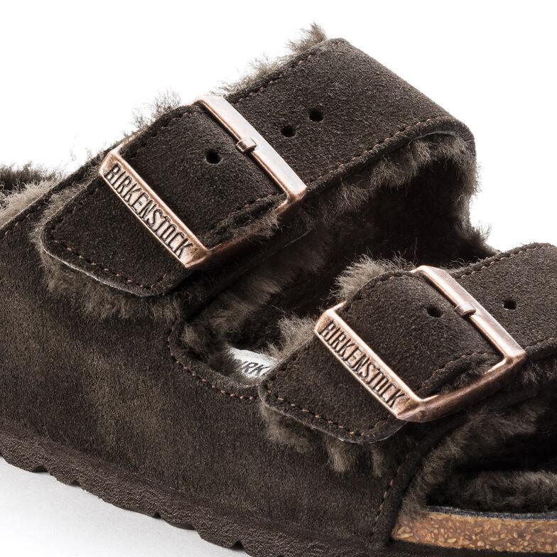 Arizona Suede Leather Mocha