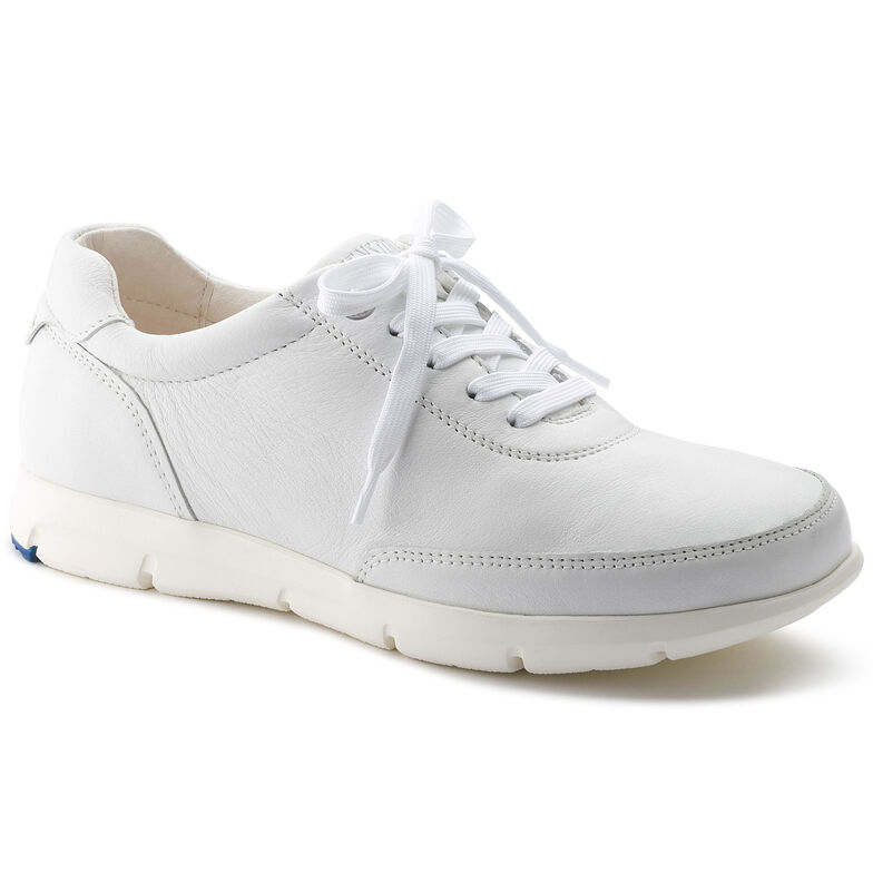 Manitoba Natural Leather White
