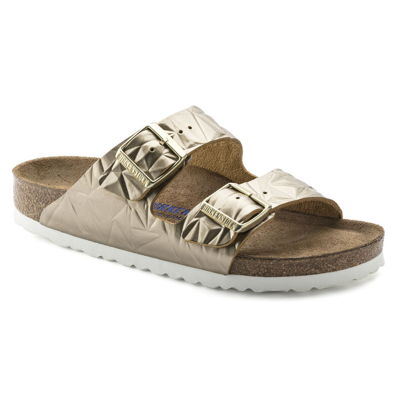 Arizona Natural Leather Soft Footbed Spectral Platinum