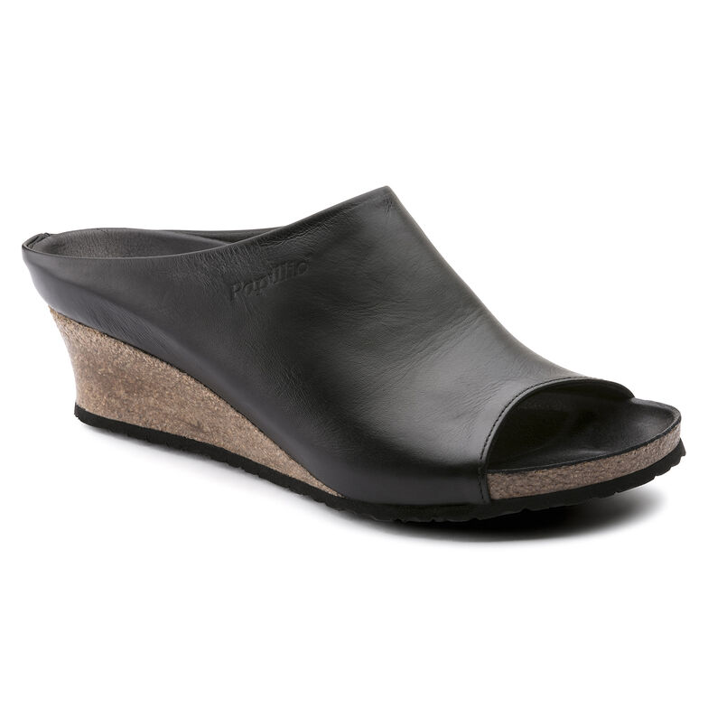 Debby Natural Leather Black