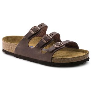 Florida Oiled Leather Soft Footbed