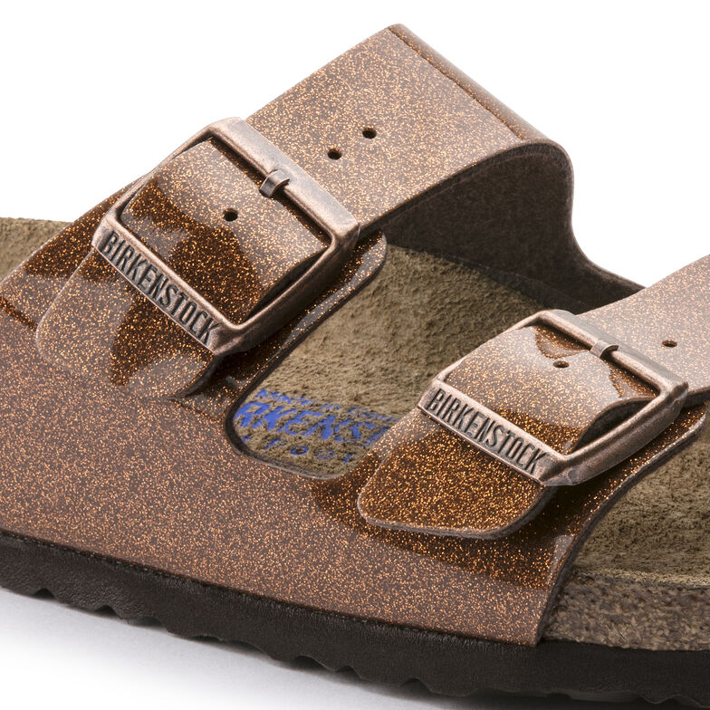 Arizona Birko-Flor Soft Footbed Magic Galaxy Bronze