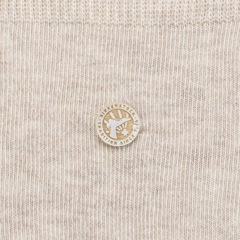 Cotton Sole Women Beige Melange