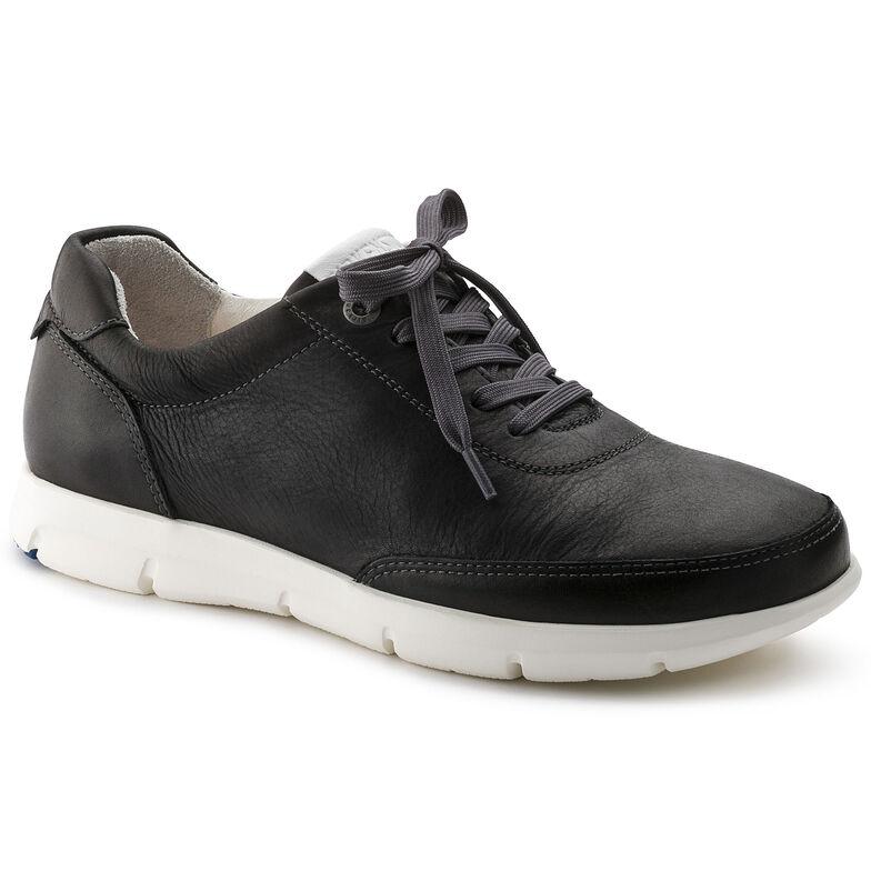 Manitoba Natural Leather Black