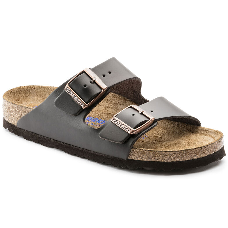 Arizona Natural Leather Soft Footbed Brown