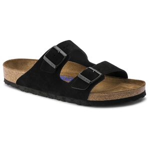 Arizona Suede Leather Soft Footbed