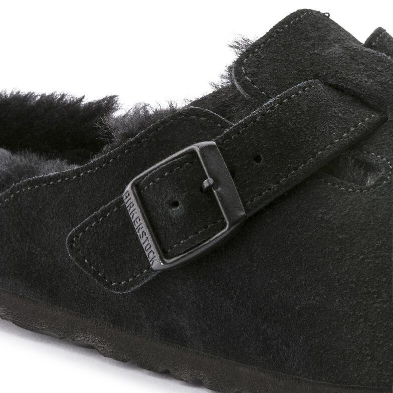 Boston Suede Leather Black