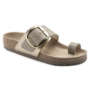 Miramar Big Buckle Natural Leather