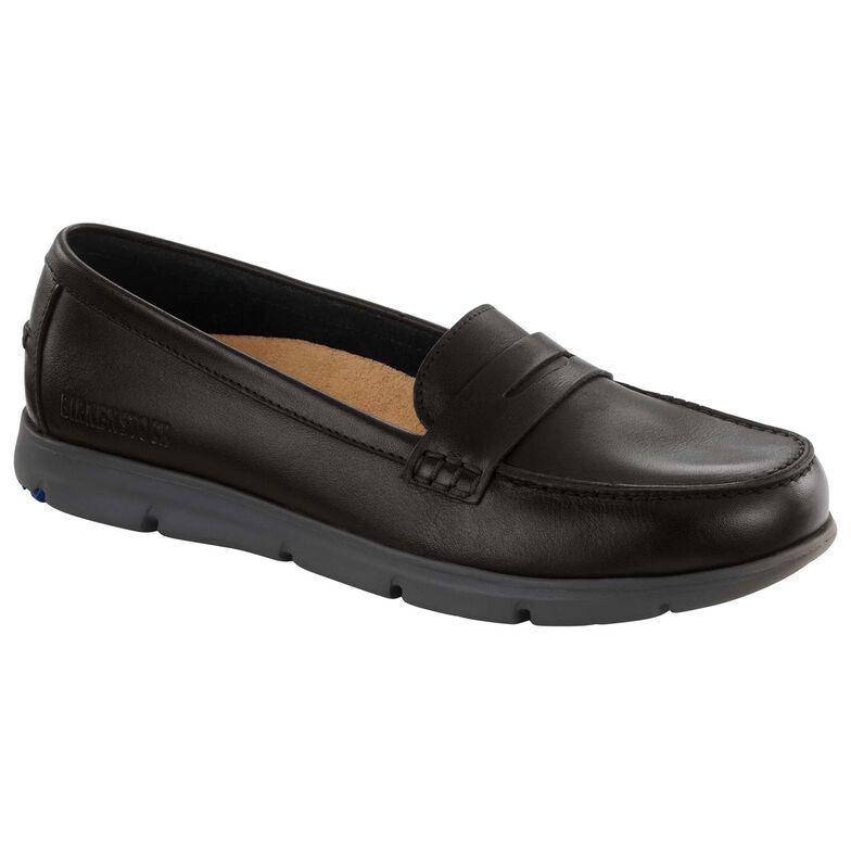 Saitama Natural Leather Black