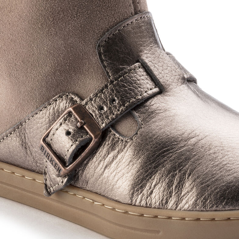 Stirling Suede Leather Taupe