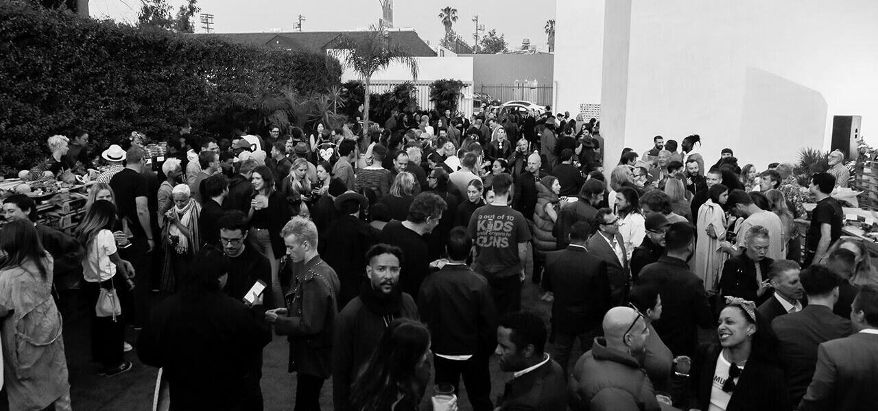 Rick Owens Box opening event