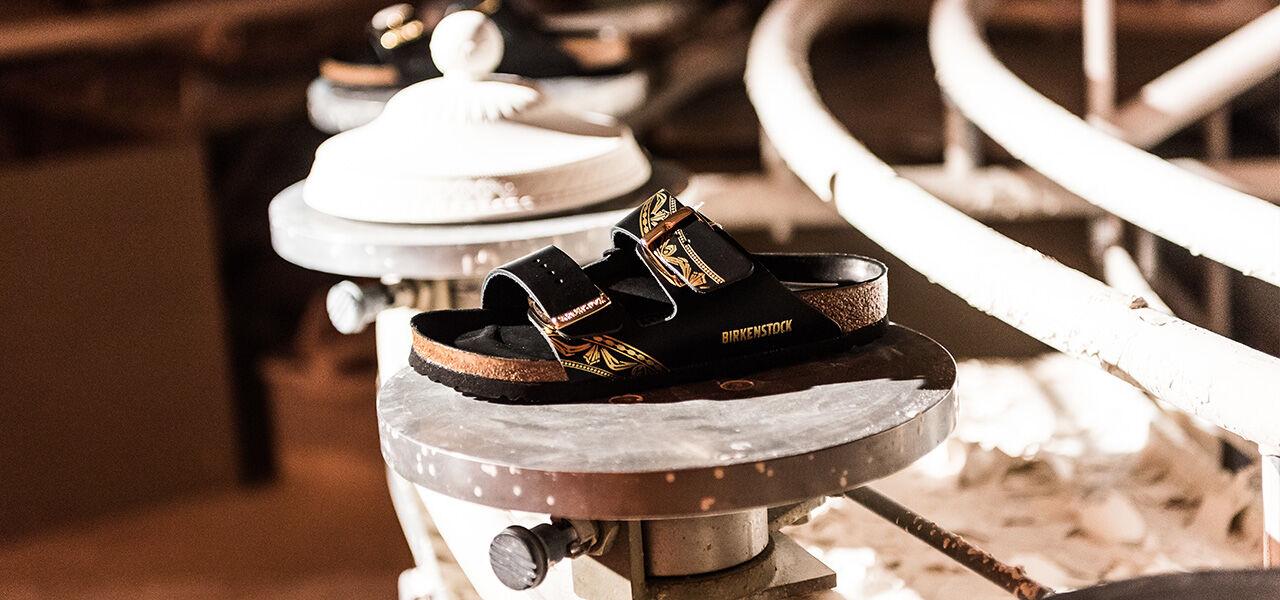 KPM collaboration footwear