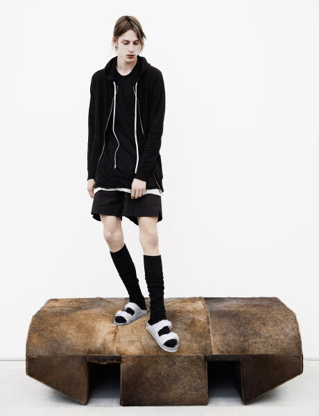 Rick Owens Arizona on model