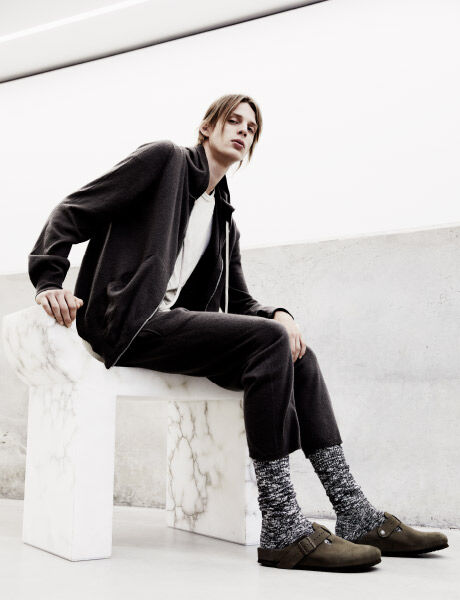 Rick Owens Boston on model