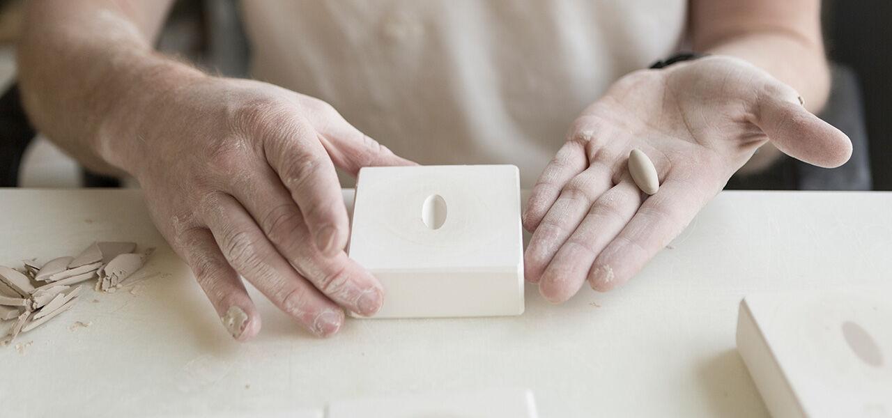 KPM molds in workshop