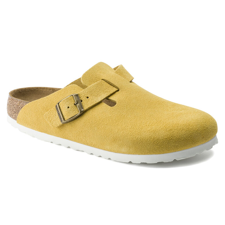 Boston Suede Leather Ochre