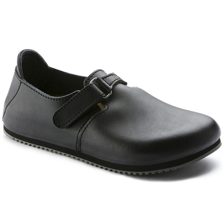 Linz Natural Leather Black