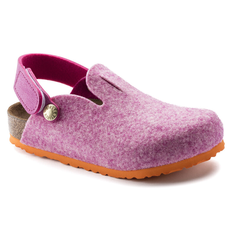 Zimba Kids Wool Felt Doubleface Pastel Rose Orange