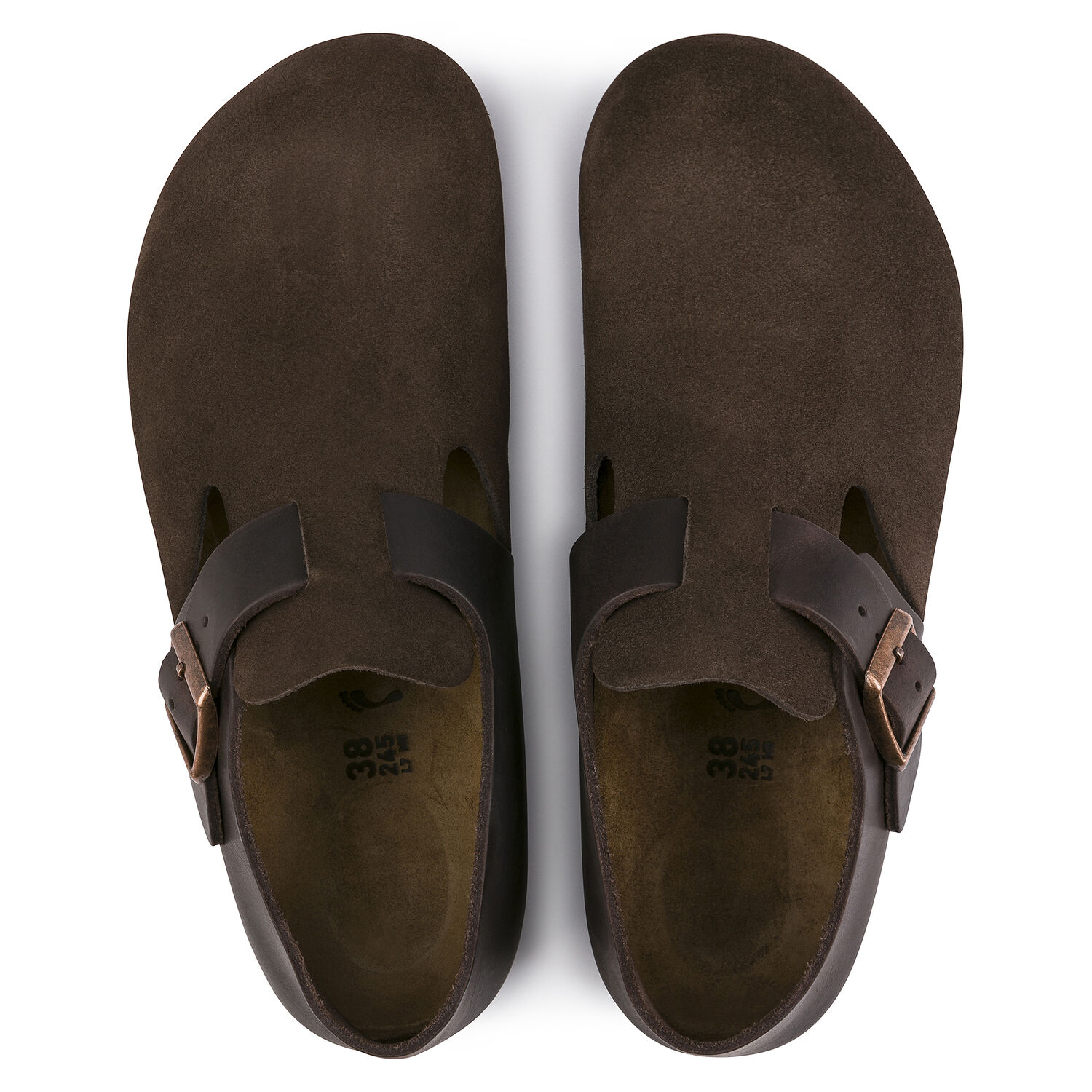 London Oiled Leather/Suede Leather