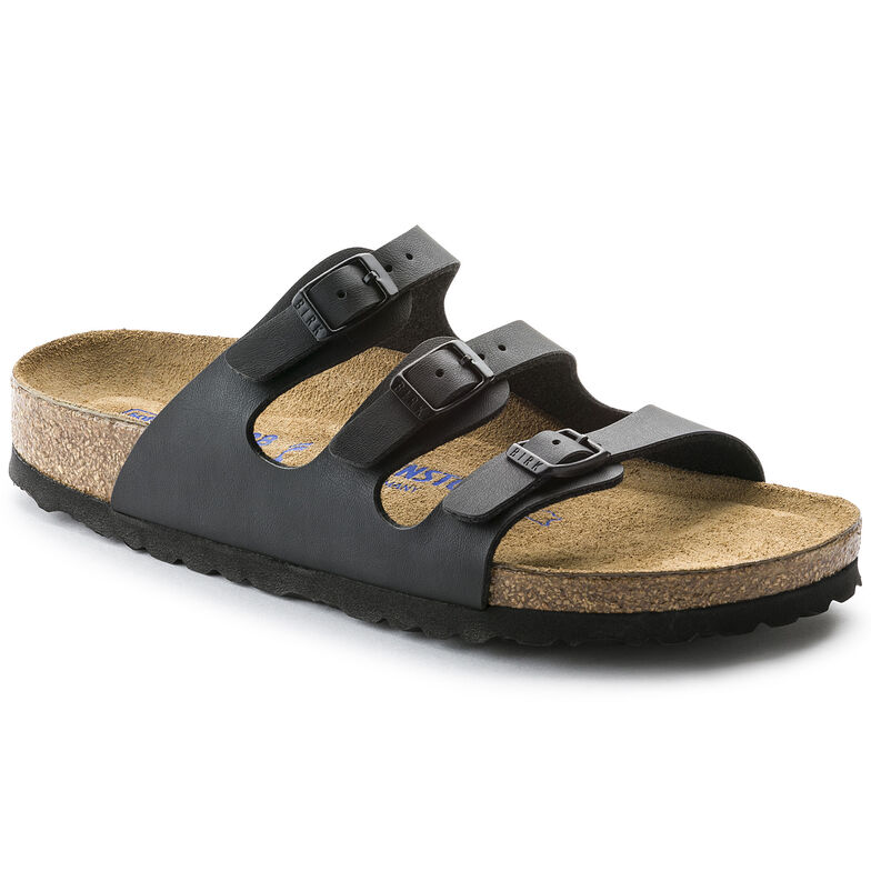 Florida Birko-Flor Soft Footbed Black