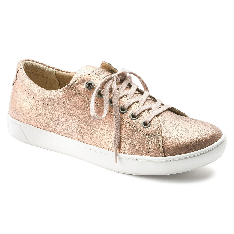 13e2265672e Arran Natural Leather Washed Metallic Rose Gold