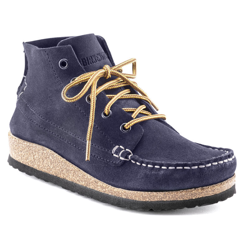 Marton Kids Suede Leather Navy