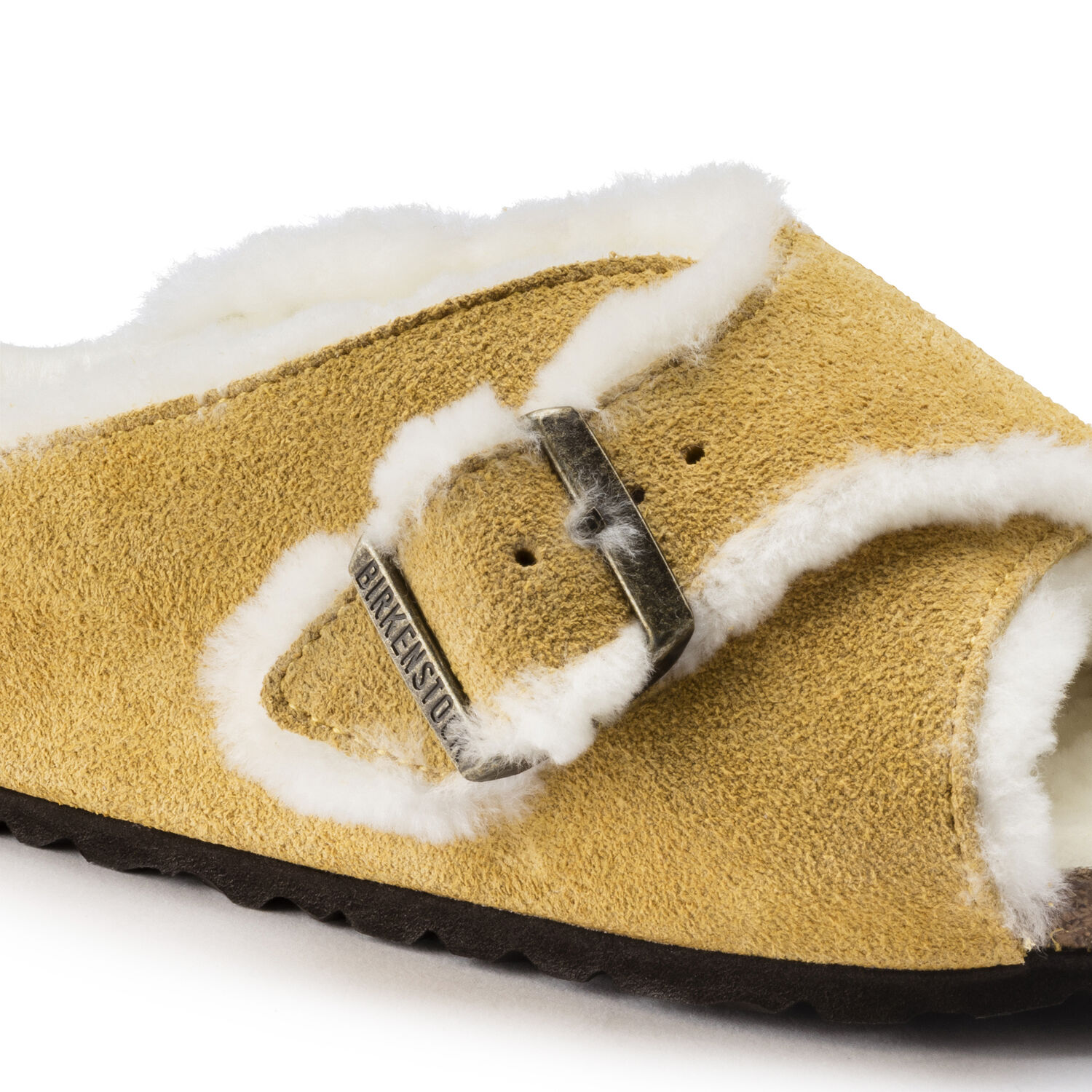 Arosa Shearling Suede Leather