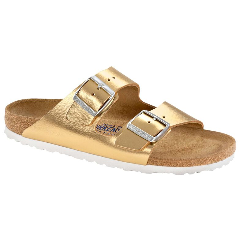 Arizona Natural Leather Soft Footbed Sirocco Gold