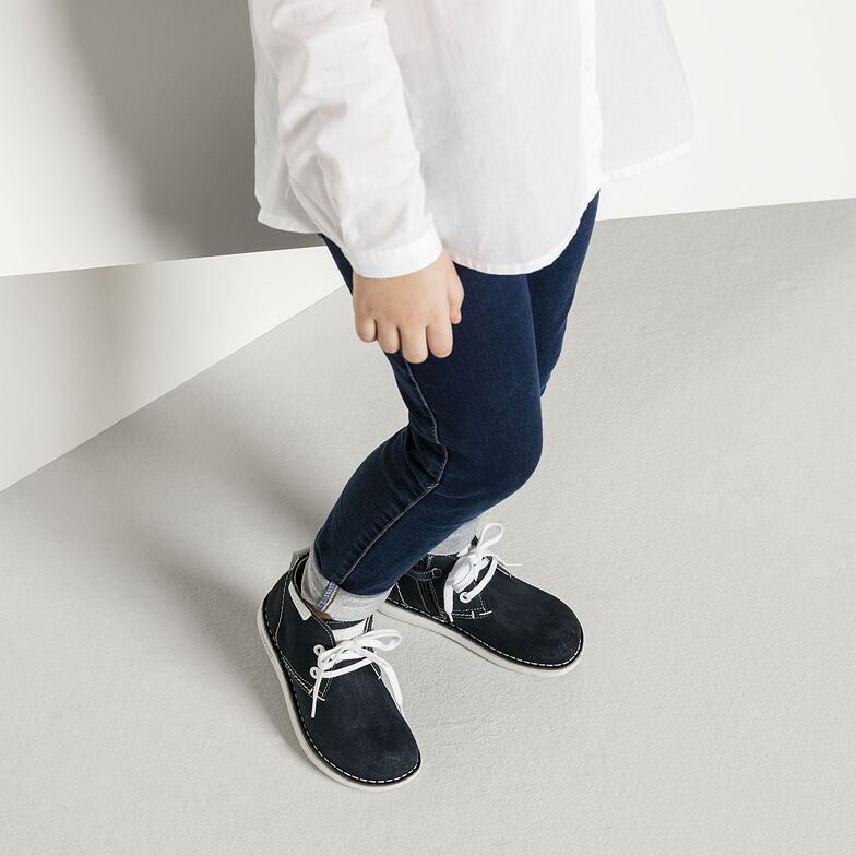 Mylo Suede Leather Navy