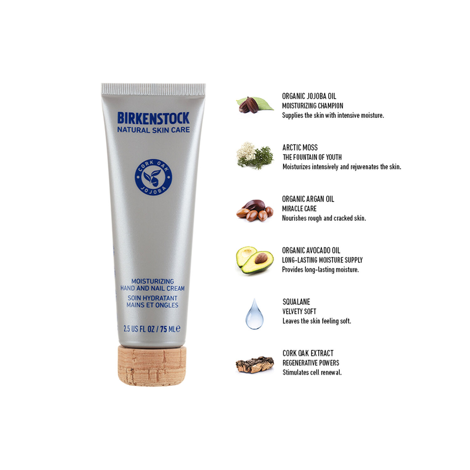 Moisturizing Hand and Nail Cream