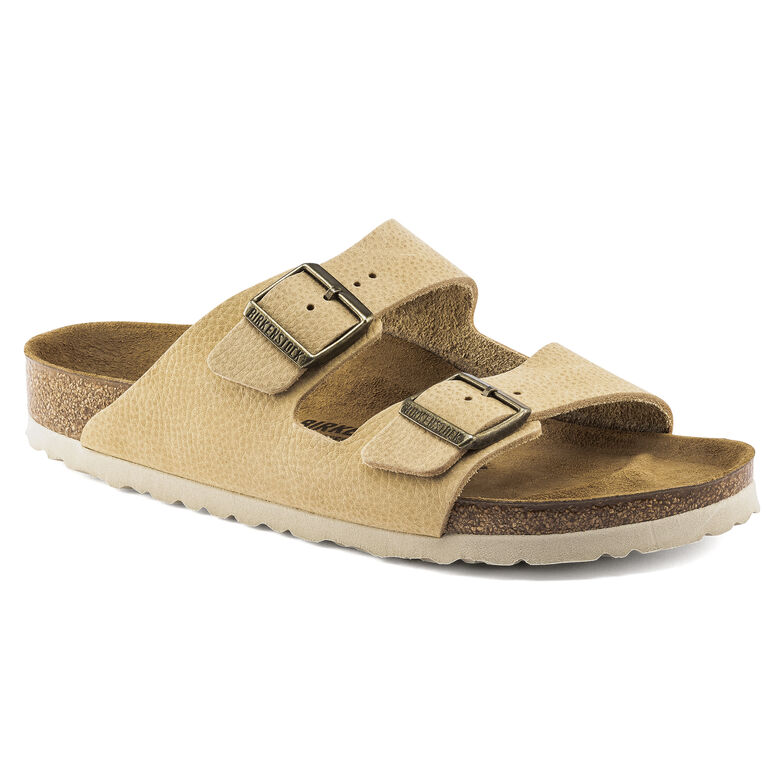 Arizona Nubuck Leather Steer Soft Sand
