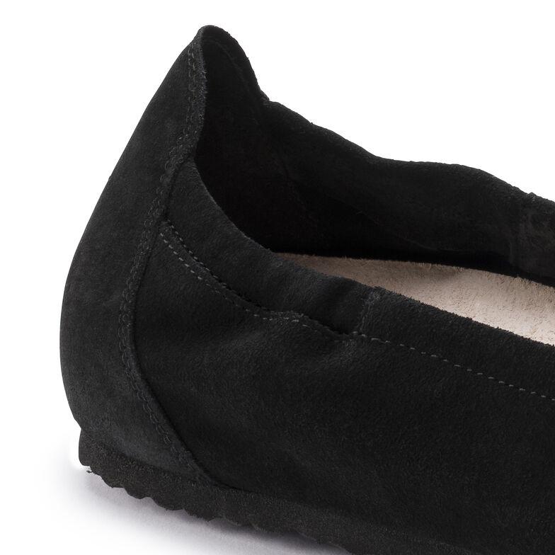 Celina Suede Leather Black
