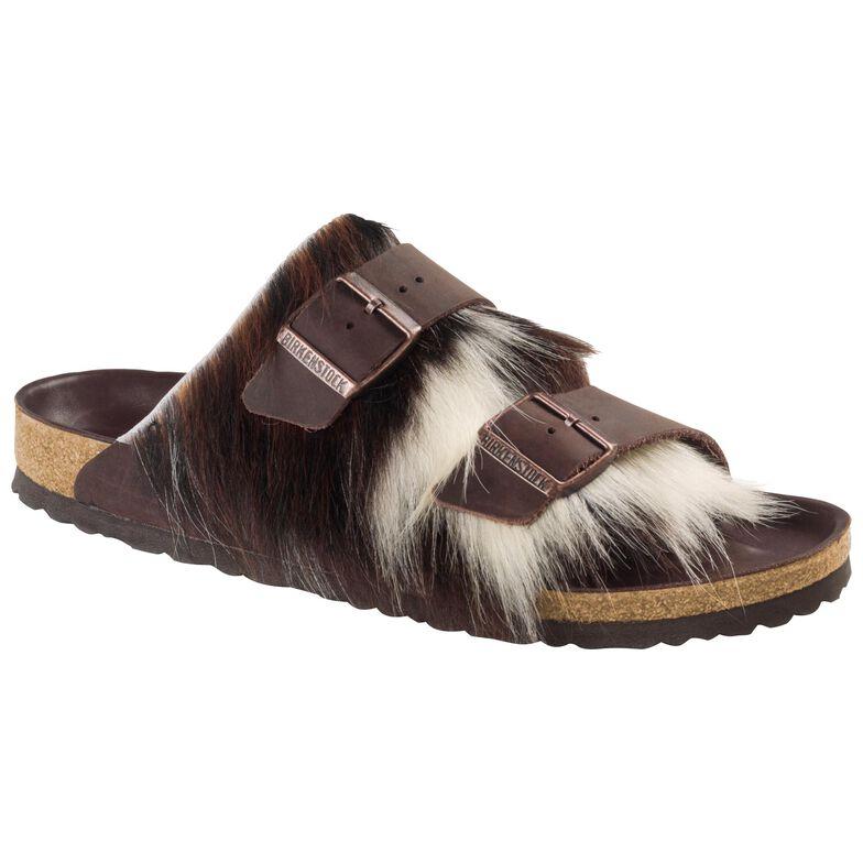 Arizona Natural Leather/Fur Brown/Tricolor