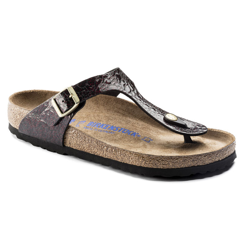 Gizeh Birko-Flor Soft Footbed Myda Wine