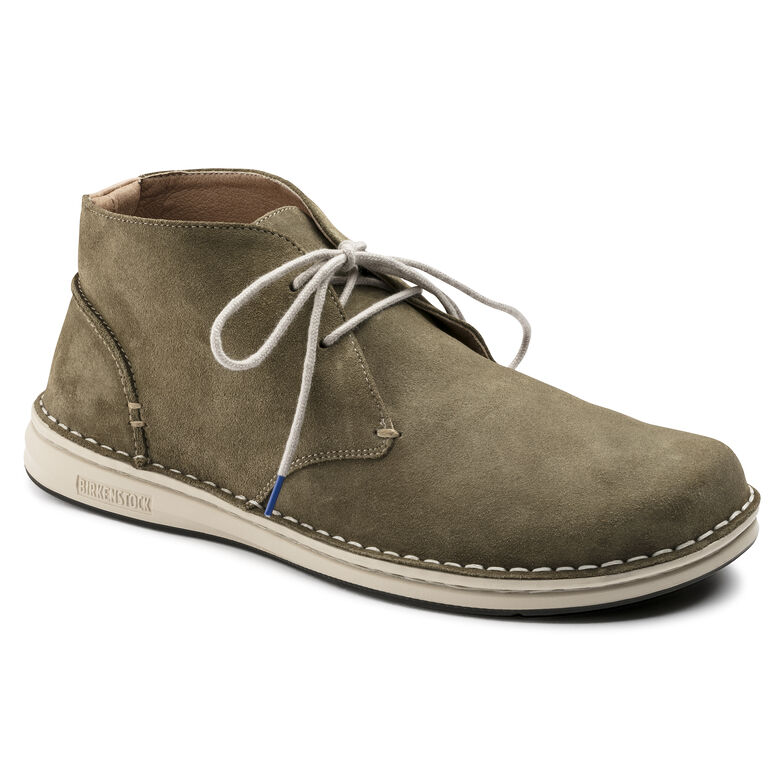 Troy Suede Leather Khaki