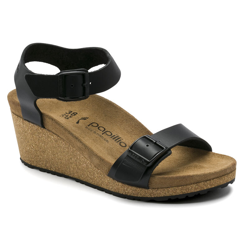 Soley Natural Leather Black