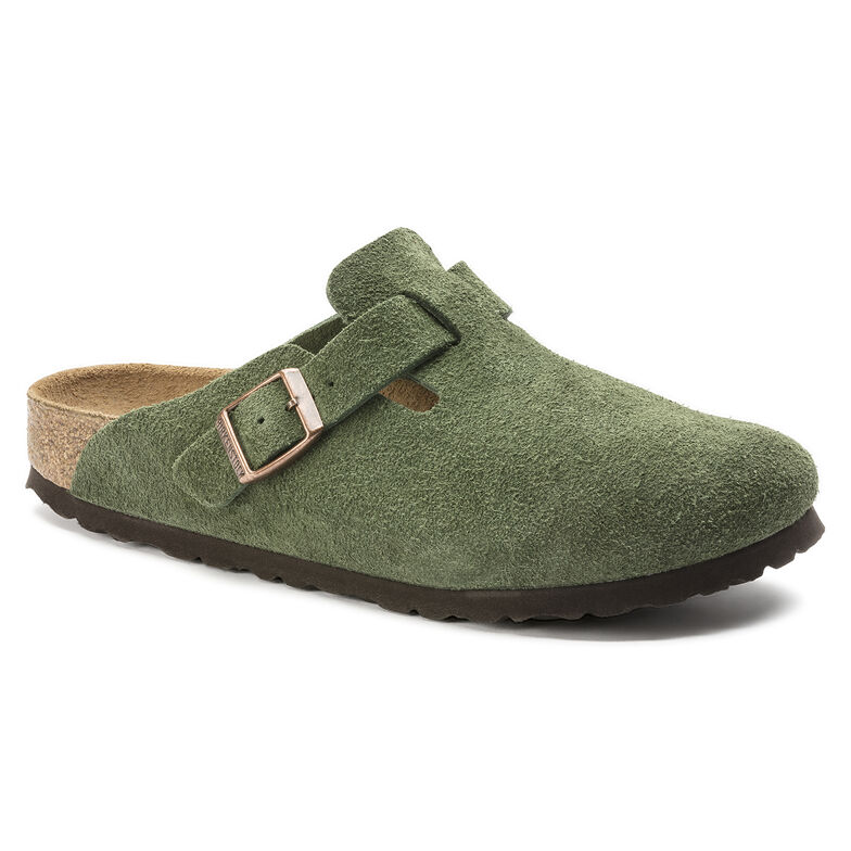 Boston Suede Leather グリーン