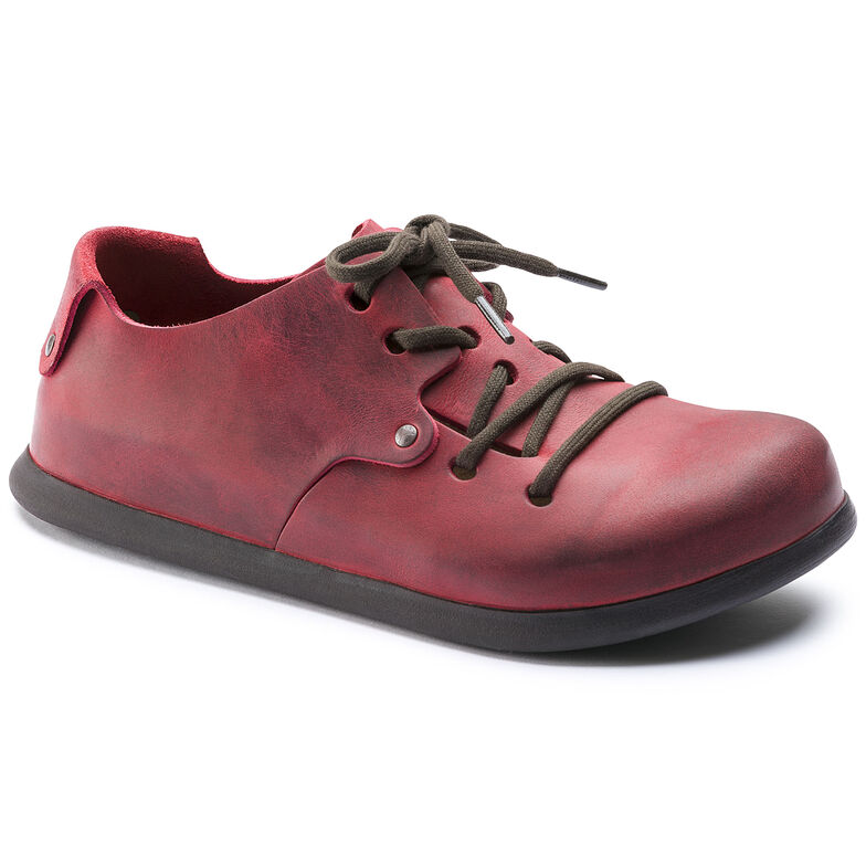 Montana Natural Leather Fire Red
