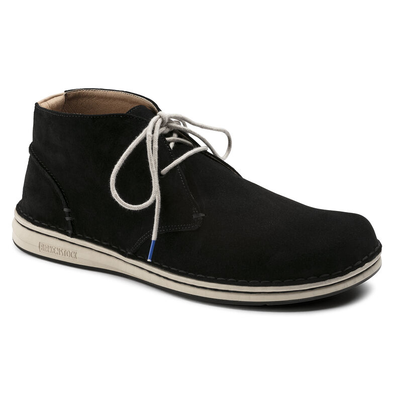 Troy Suede Leather Black
