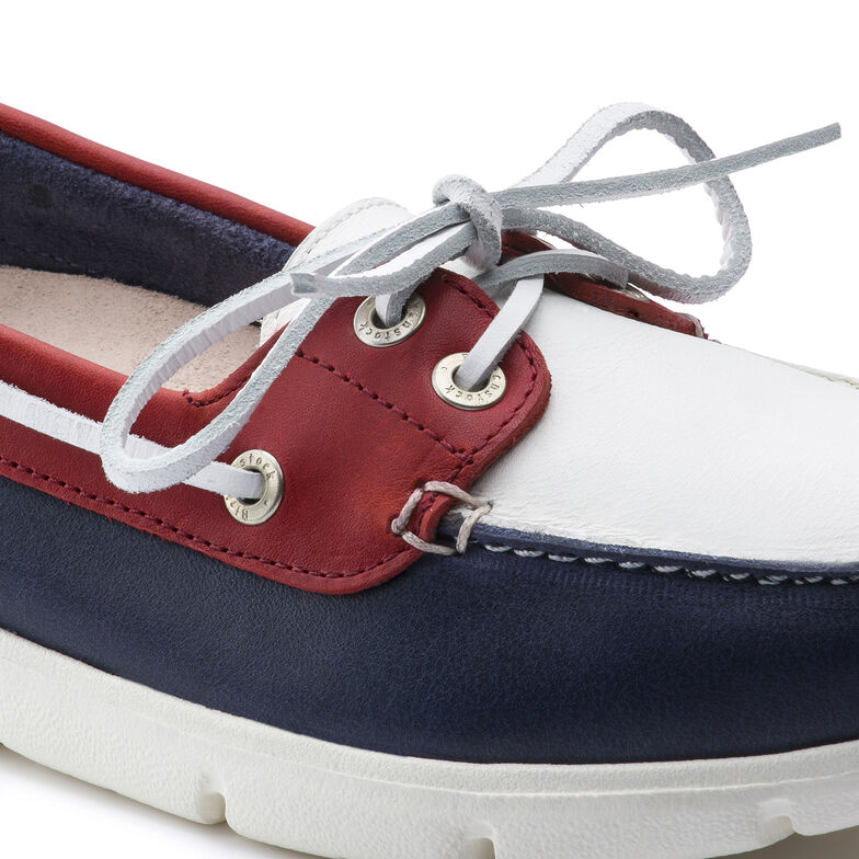Tennessee Natural Leather Dark Blue/White/Red