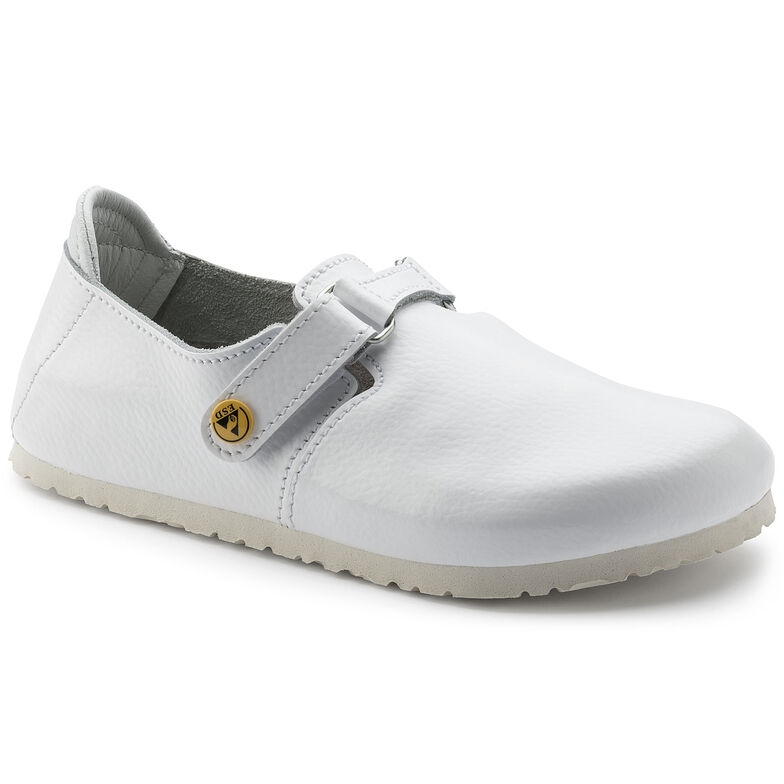 Linz Natural Leather White