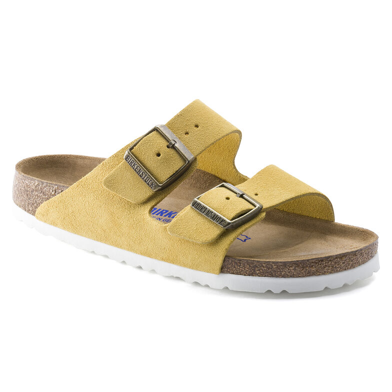 Arizona Suede Leather Ochre